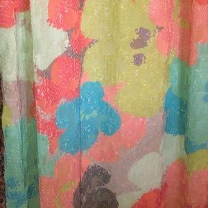 Trina Turk Floral Sequin Gown